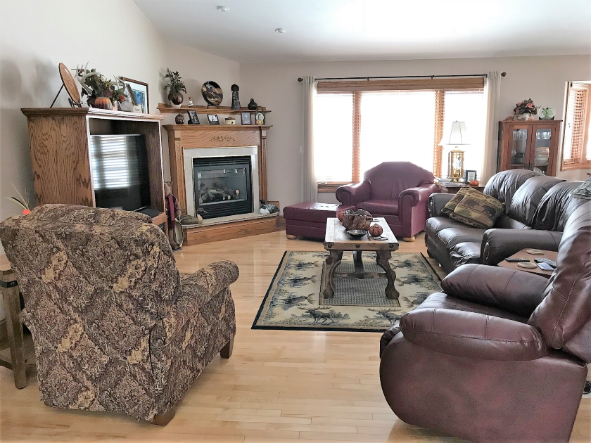 Main Level Living Room, Private Home | Spearfish SD