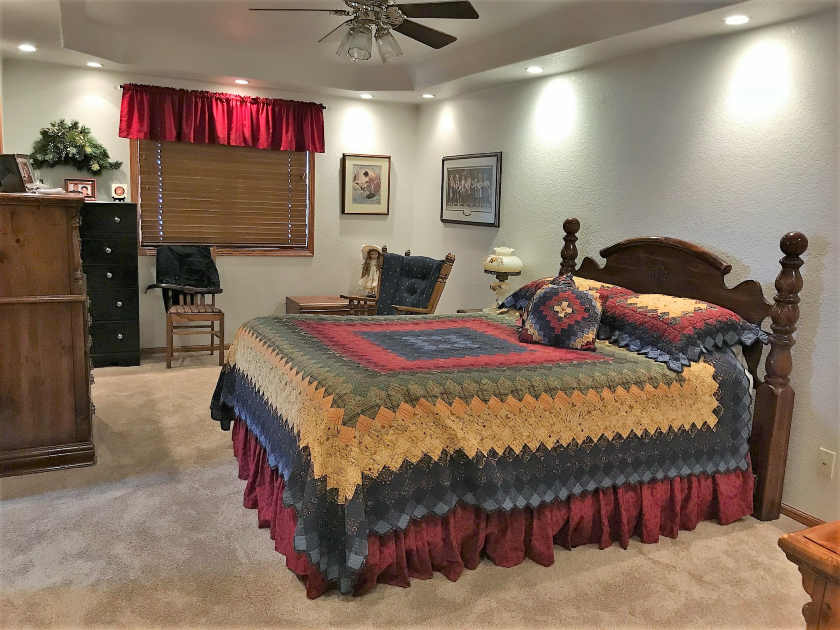 Master Bedroom, Private Home | Spearfish SD