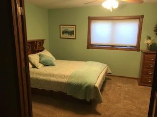 GingerSnap Home Queen Basement Guest Room - Sturgis SD