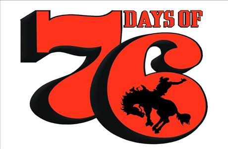 Days of 76 Logo - Deadwood SD