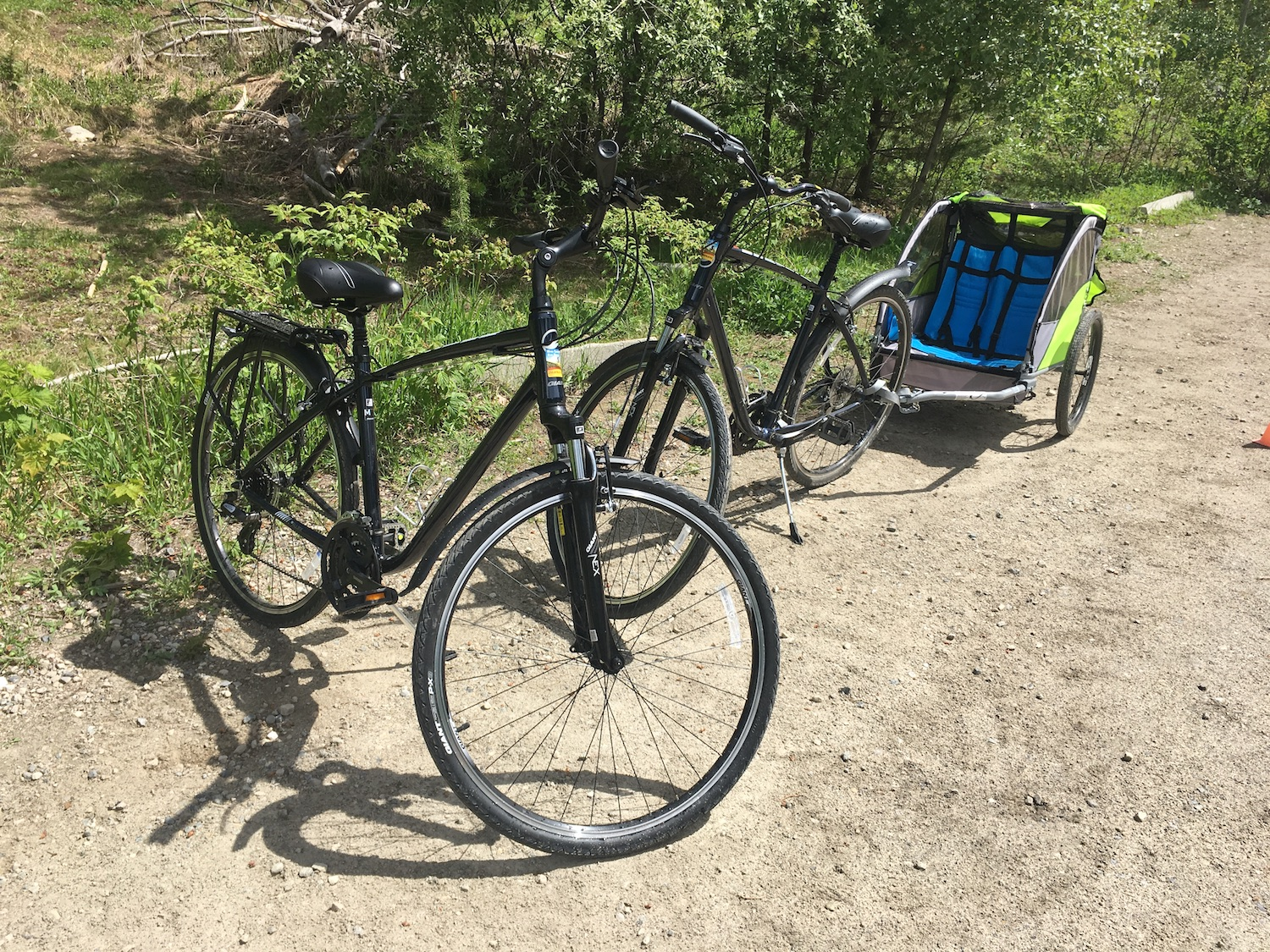 Myra Canyon Bike Rentals - Half Day