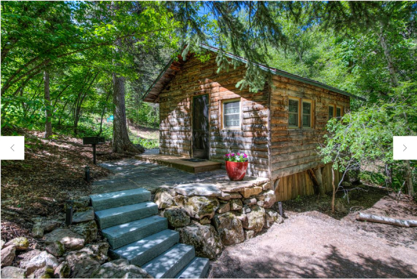 Ponderosa Cabin - Rim Rock Lodge - Spearfish Canyon SD