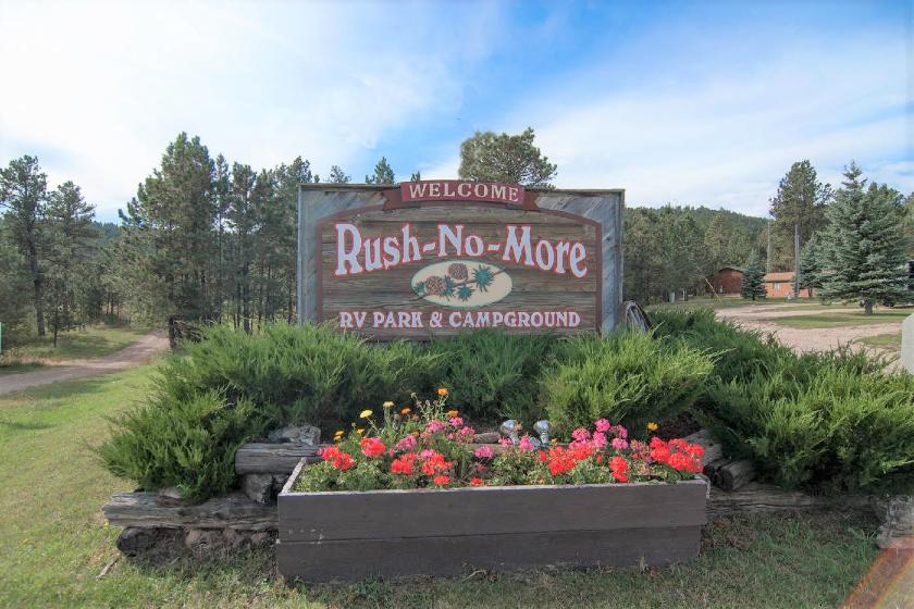 Rush No More RV Resort, Cabins and Campground - Sturgis SD