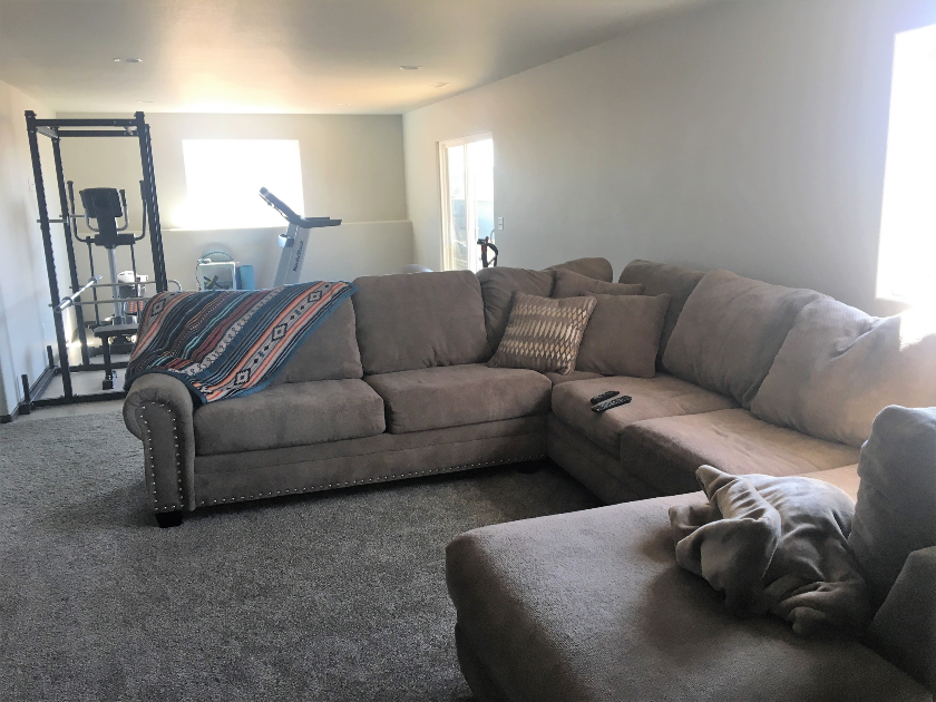 Meadows Drive Family Room - Sturgis SD