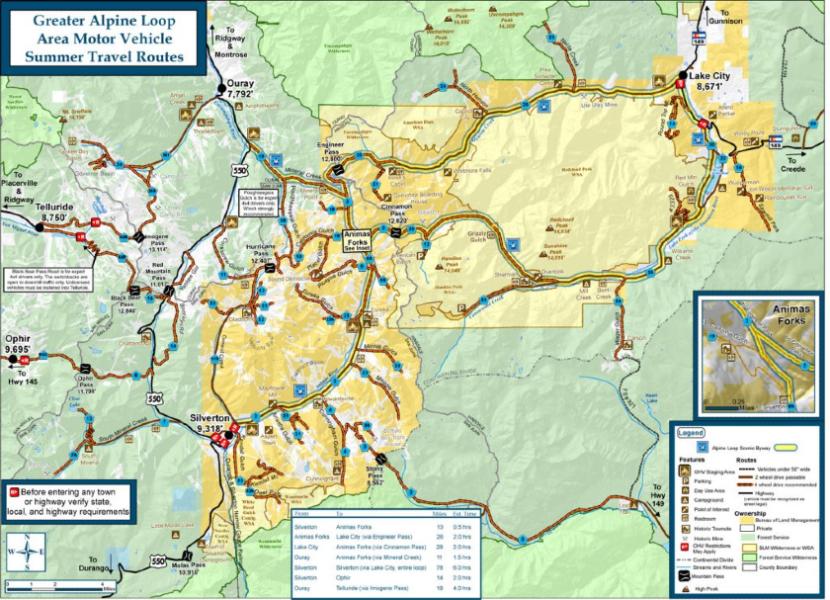 Trail Map