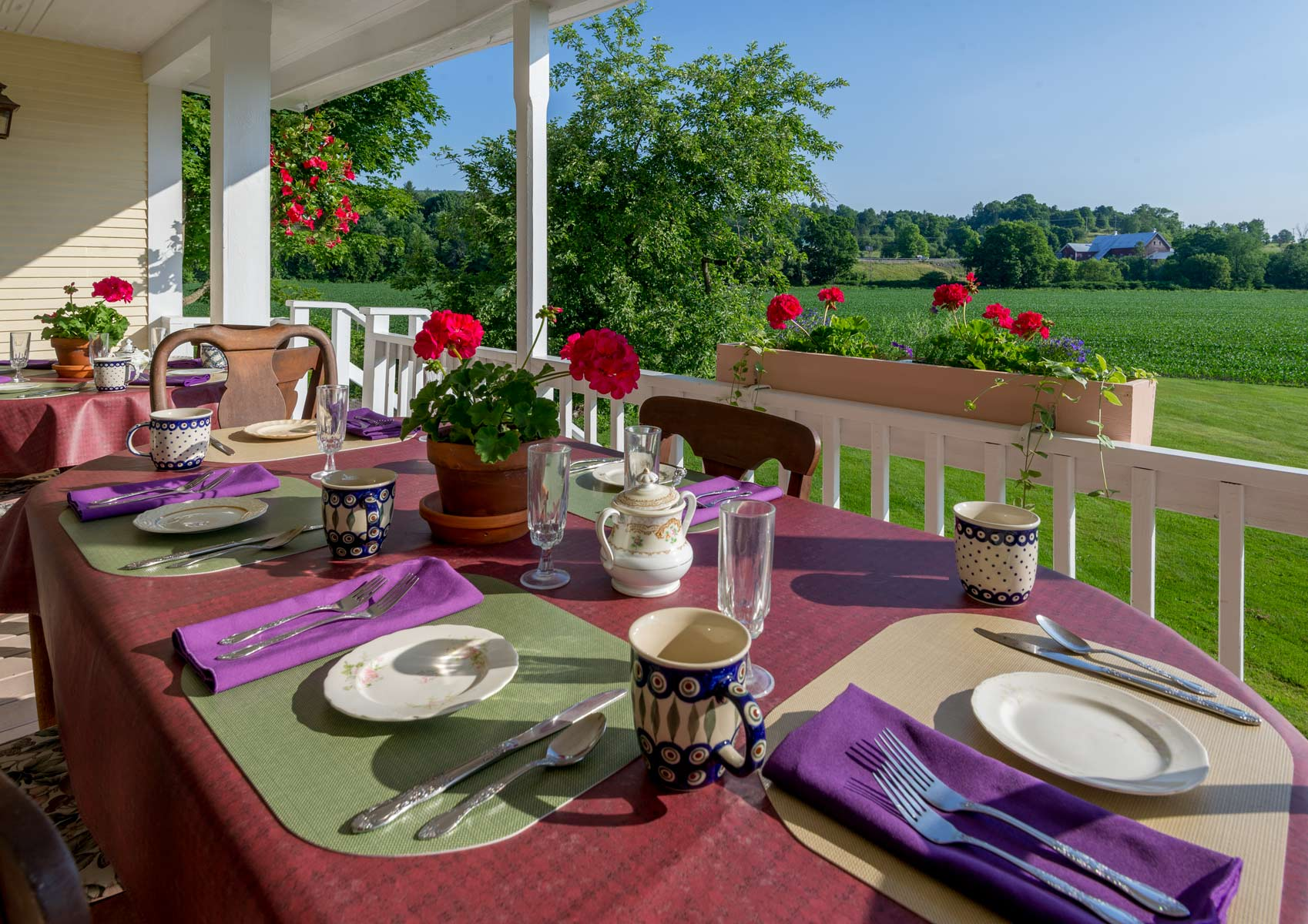Back Porch Dining