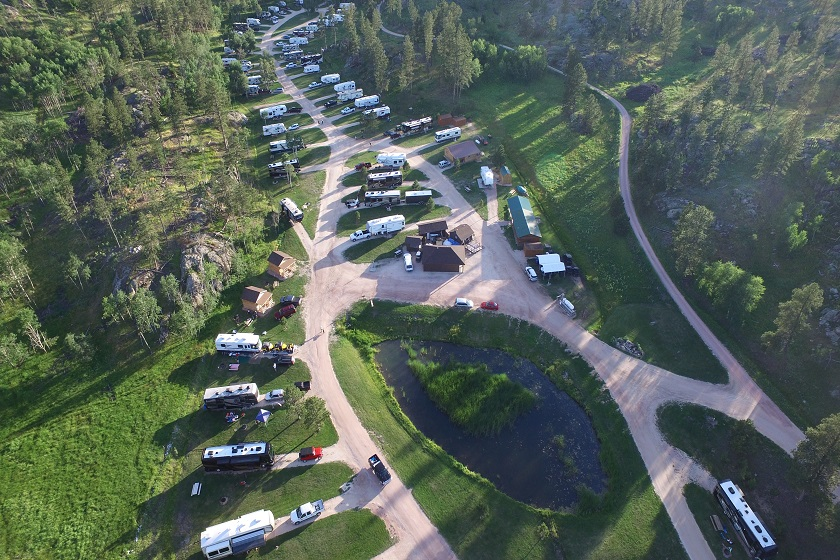 Custers Gulch RV Park and Campground - Custer SD