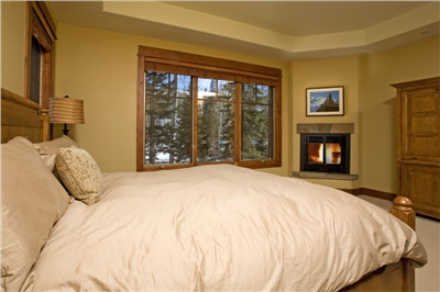 Massive Master Bedroom with a king-sized bed