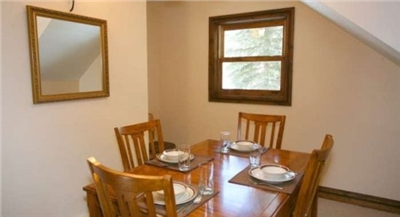 Formal Dining Area - Seating for 4