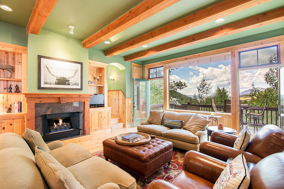 215 Double Eagle - Spacious open floor plan with amazing views