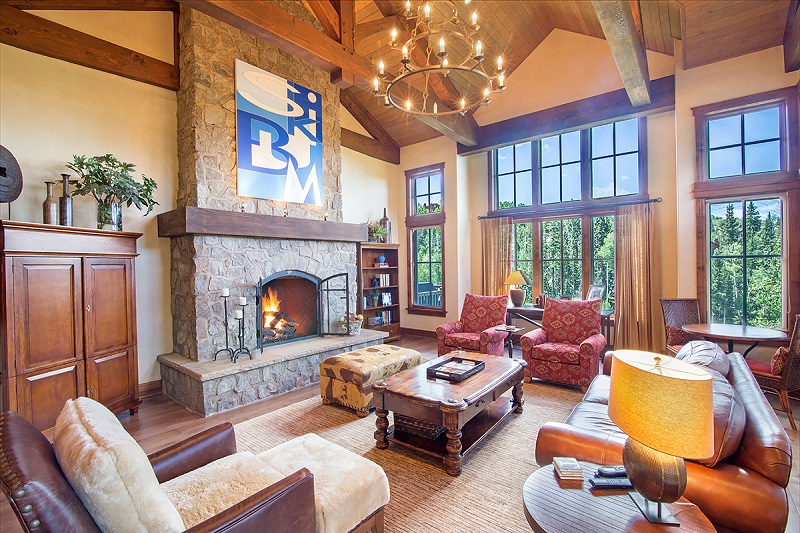Castellina A - 4 Bd / 5.5 Ba - Sleeps 9 - TRUE SKI IN SKI OUT Luxury Vacation Ho