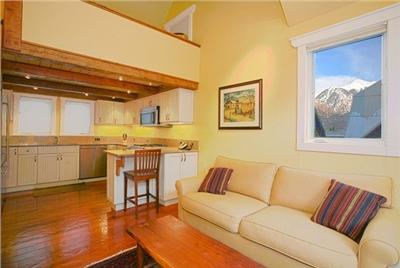 Columbine E - Living Area - Mountan Views - Fully Equipped Kitchen