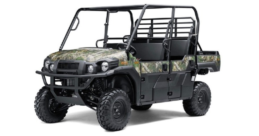 Kawasaki Mule 6 Seater - Mystic Hills Rentals - Deadwood SD