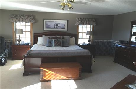 Fowler Home Bedroom - Sturgis SD