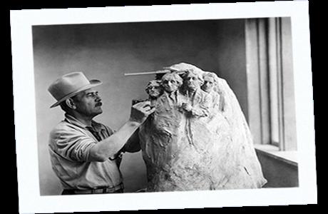 Mt Rushmore Sculptor Gutzon Borglum