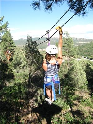 High Flying Adventure over the Durango Forest Floor