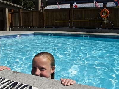 Family Friendly Year Round Heated Pool