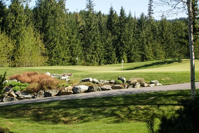 View of golf course from Alpine Greens