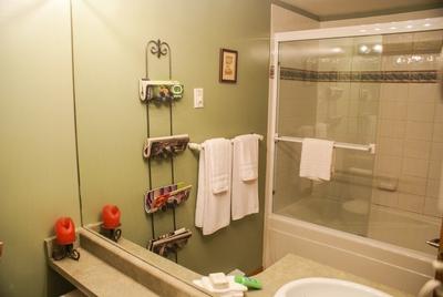 Nice bathroom with soaker tub
