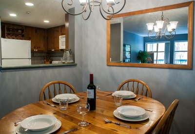 Dining area suitable for 4 guests