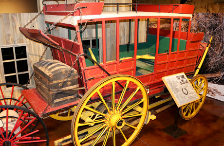 Days of 76 Museum Stage Coach Collection - Historic Deadwood SD