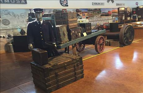 South Dakota State Railroad Museum - Hill City SD