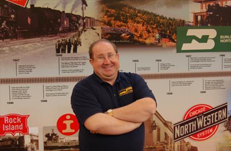 South Dakota Railroad Museum Rick Mills-Curator - Hill City SD