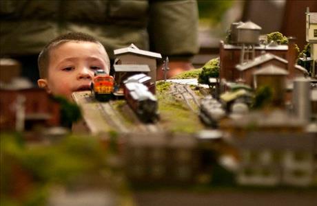 South Dakota Railroad Museum Train Collection - Hill City SD