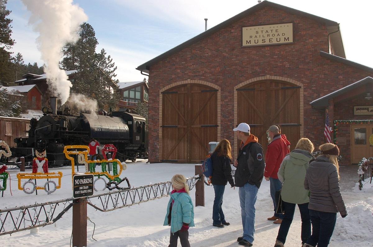 South Dakota Railroad Museum Holiday Events - Hill City SD