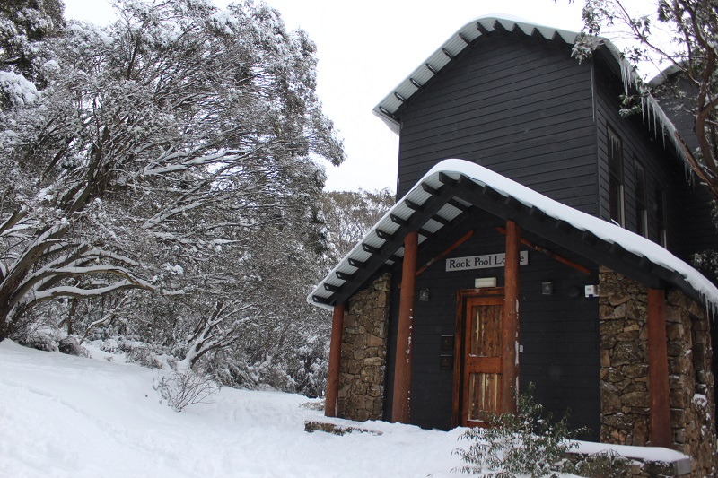 Rockpool Lodge is just one of the self contained properties available