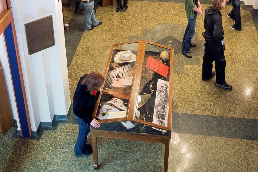 Adams Museum Exhibit - Deadwood SD