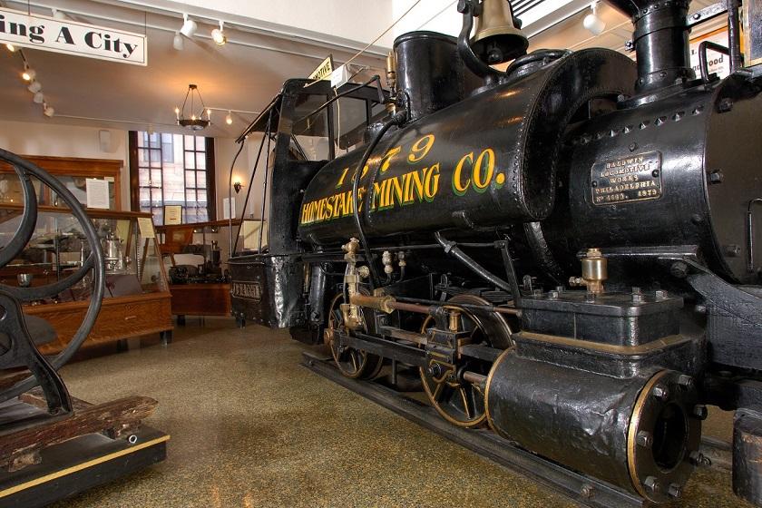Adams Museum Homestake Mining Locomotive - Deadwood SD