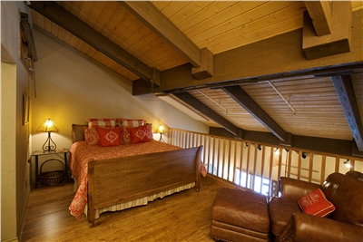 Loft with King Bed