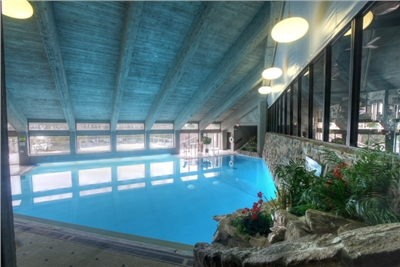 Indoor-Outdoor Heated Pool