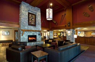 Aspens lodge - lobby