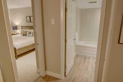 Master bedroom & Bathroom: view