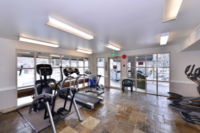 Aspens lodge: cardio center