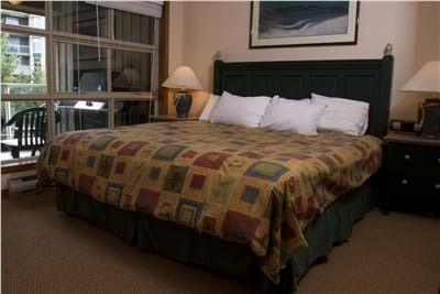 Master Bedroom with King Bed and Ensuite