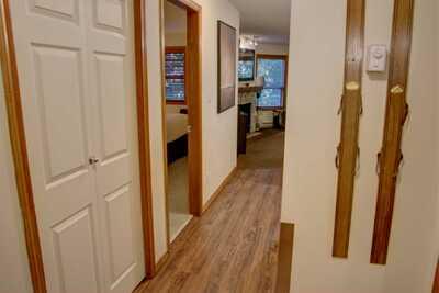 Hallway with new PVC