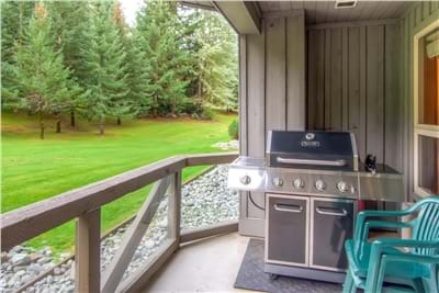 Private Deck with Gas BBQ
