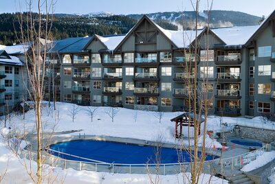 Aspens Pool Winter - heated and open year round