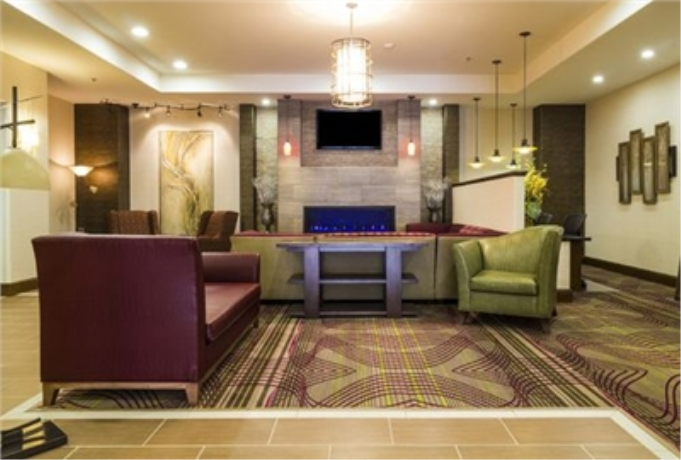 The Holiday Inn & Suites Lobby