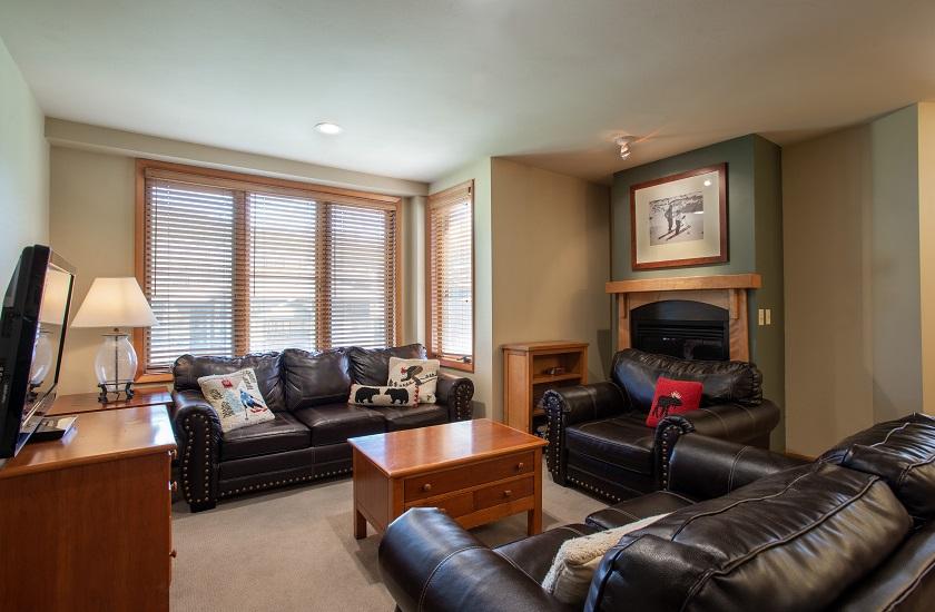 3 Bedroom Gold Living Room