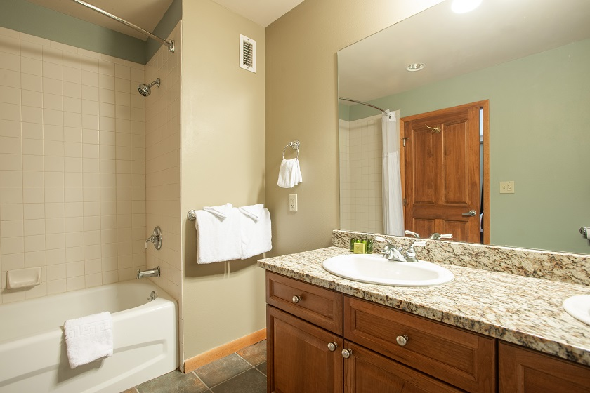 3 Bedroom Gold Master Bathroom 1