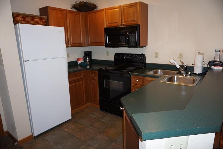 Sample Silver Kitchen (Layout May Vary)