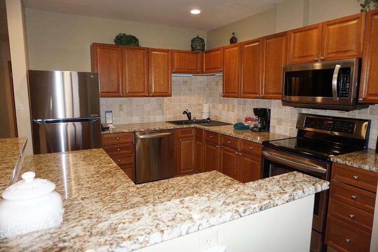 Sample Gold Kitchen (Layout May Vary)