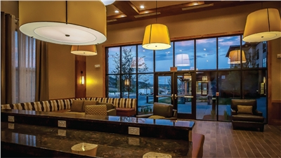Lobby of the Homewood Inn & Suites Durango