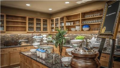 Breakfast Room at the Homewood Inn & Suites, Durango