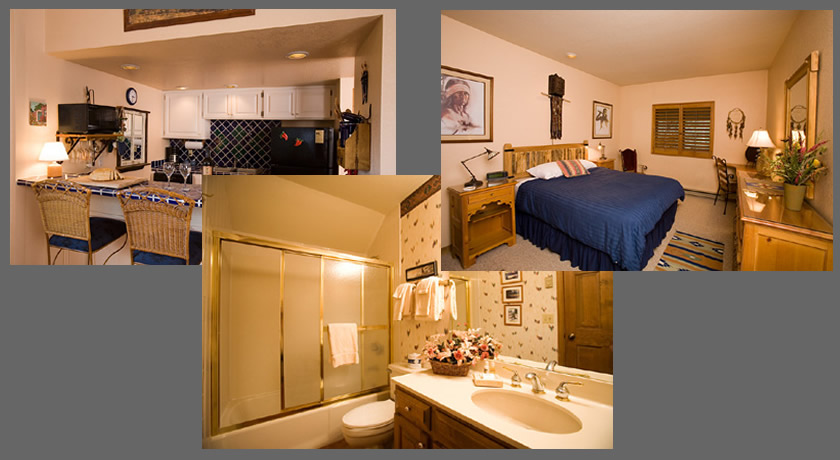 Units vary in bedding and decor. Images may not be actual unit reserved.