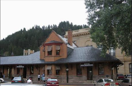 Deadwood History and Information Center - Deadwood SD